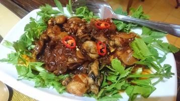Frog legs in Tamarind sauce