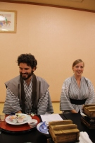 Dinner in Yukatas