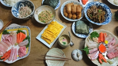 Sushi evening, yay!