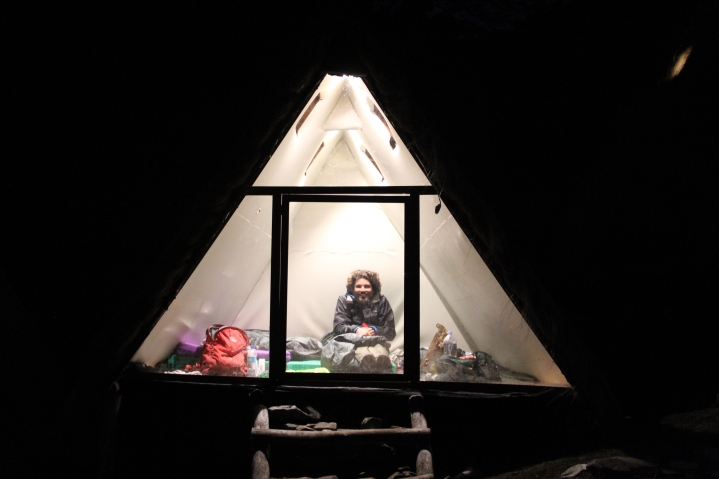 Our cute little hut
